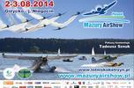 Mazury AirShow 2014. Podniebne akrobacje po raz kolejny nad Niegocinem!